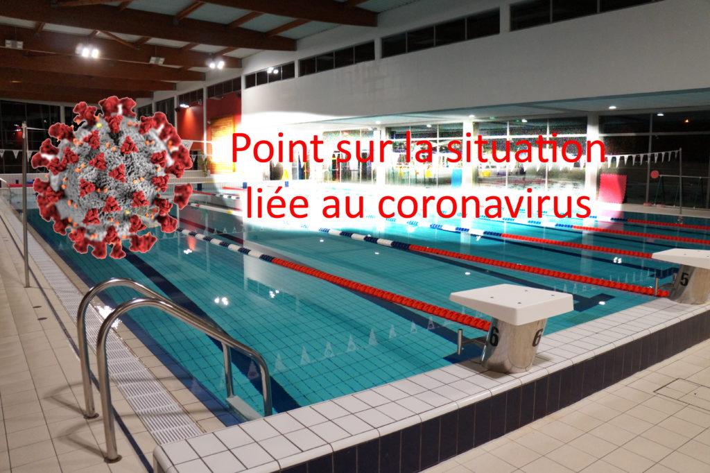 Point sur la situation liée au coronavirus