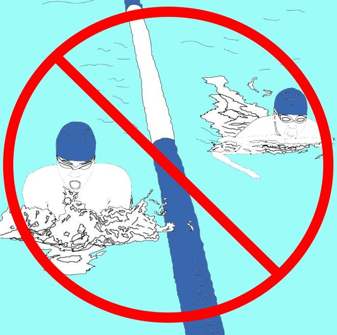 Cours de natation suspendus